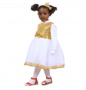 Robel_ Kid Girls Mesh Sleeveless Ballet Tutu Dress