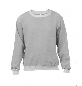 Markon Adults Long-Sleeve Crew neck Fleece Sweatshirt