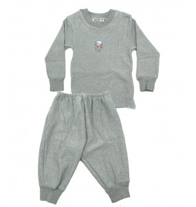 Markon Long Sleeve Crew Neck Top & Pants Set for Kids