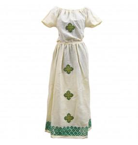 Markon_ Off shoulder Women's Traditional Dress
