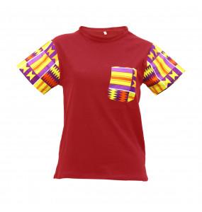 Markon Unisex Fashion Africa printed  Short Sleeve T-Shirt