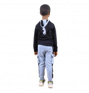 Roza Kids' Hooded Jacket and Pants Set