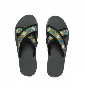 Eyerusalem_Women's Textile lining Open shoe