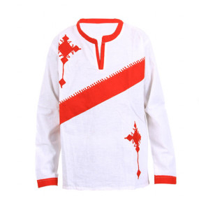 Simret _Men's 100% Cotton Long sleeve Traditional Shirt