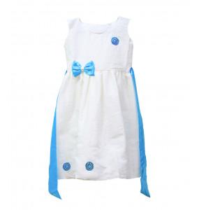 Asegedech_  Sleeveless Girl's Traditional Dress