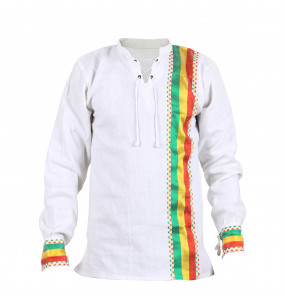 Asegedech_ Long Sleeve Traditional Men's Shirt