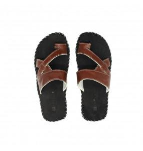 Tofik_ Genuine Leather Men's Open Shoe
