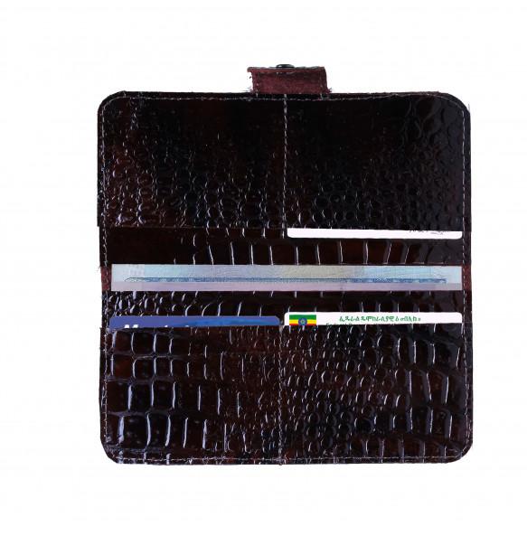 Tiruwork_ Genuine Leather Women's Wallet