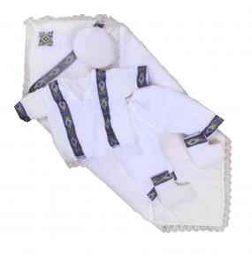 Lishan_ Traditional Cotton newborn baby Boy Cloth set