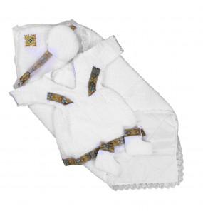 Lishan_ Cotton newborn baby Cloth set