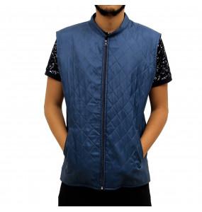 Alemu_ Men's Jacket Sleeveless Vest Winter Casual Waistcoat