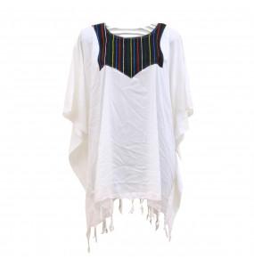 Alemu_ Women's Handmade 100% Cotton Cultural Top