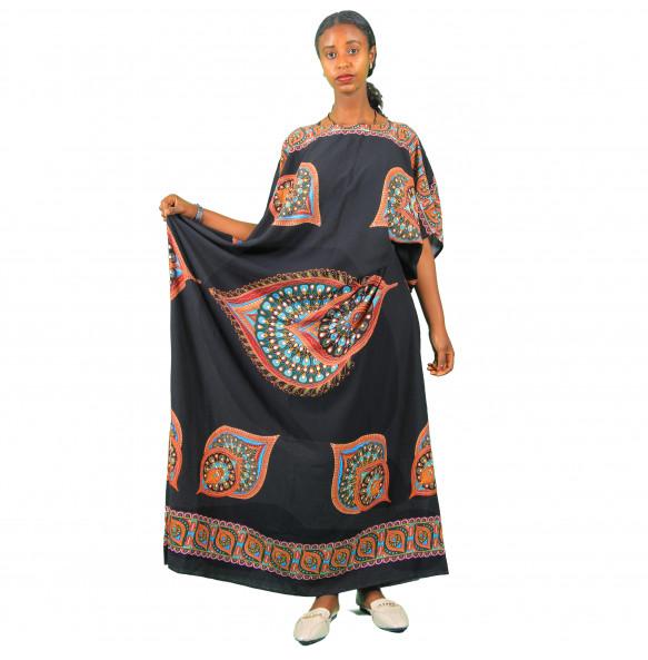Alemu_ Women's  Colorful  Sleeveless Dress