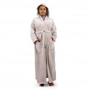 Msraki_ Women's Cotton Robe
