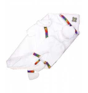 Mezgebu_ Cotton New baby Boy Traditional  Cloth Set