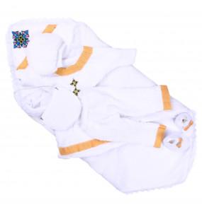 Mezgebu_ Cotton Newborn Baby Traditional Cloth Set (6pcs)