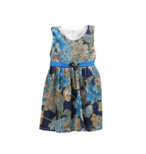 Natenael_Sleeveless kids Dress (1-5 years)