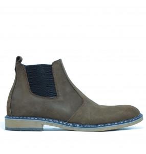 Weyneshet_ Men's Genuine Leather Short boots