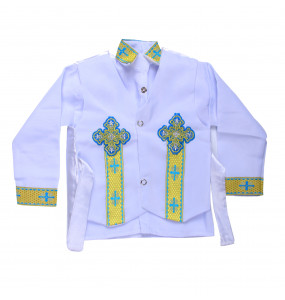 Tesfaye _ Baby boy Traditional Kid's Suit (3pcs)