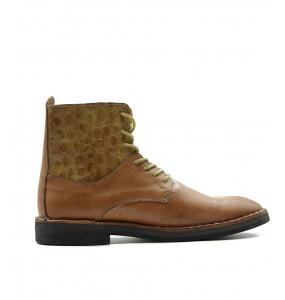 Getnet_ Genuine Leather Men's Boot Shoe