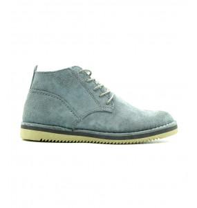 Getenet_  Genuine Leather Velvet Men's Short Boots Shoe