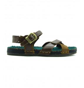 Getnet_ Leather Top Men's Open Shoe