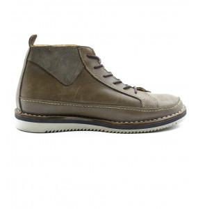 Getnet_ Genuine Leather Men's Short Boots