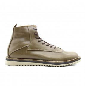 Getnet _Genuine Leather Men's Short Boots