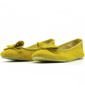 Derje_Genuine Leather Women's  Flat Comfortable Shoe