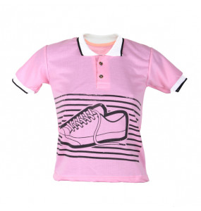 Seble_ Kids Spot Shield Short Sleeve Shirt