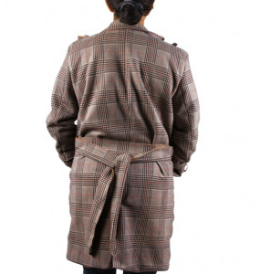 Aklilu_ Belted Women's Trench Coats