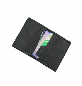 Amare_ Genuine Leather Wallet for ATM and License Cards Case