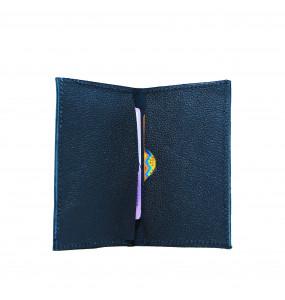 Meskerem _Genuine Leather Hand Craft ATM /License Card Wallet