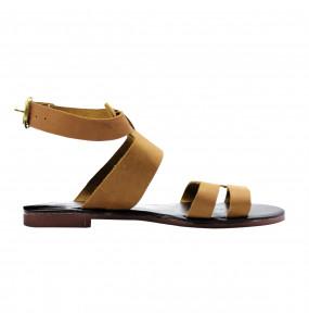 SOLIYANA _  Women's Genuine  Leather  Open Toe  Sandel Shoe