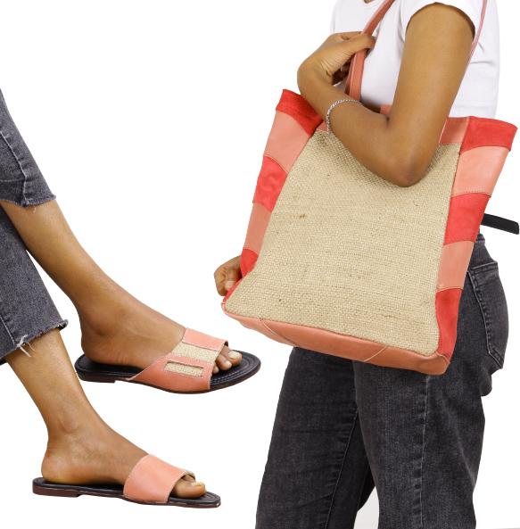 Kabana Women's Shoulder bag matching shoe and bag set