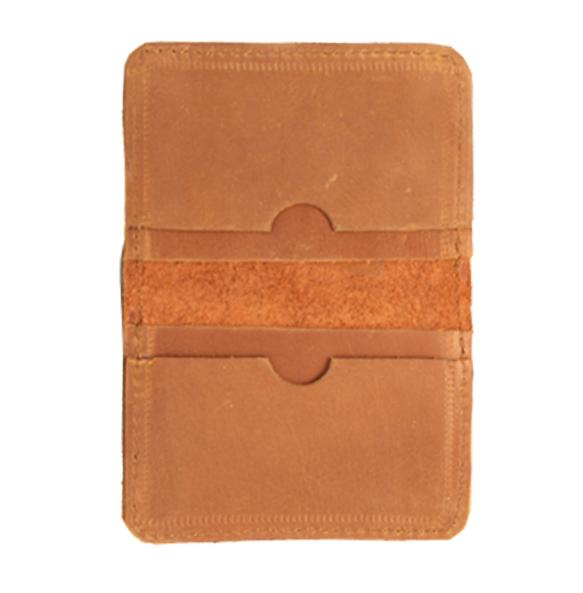 Kabana Genuine Leather Hand Craft ATM/License Card Wallet