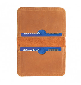 Kabana Genuine Leather Hand Craft ATM/License Card Wallet