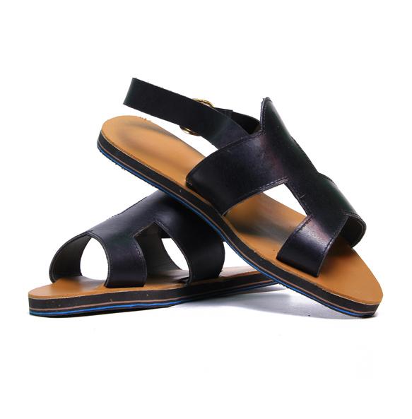Bana Women's Genuine Leather Flat Open Shoe