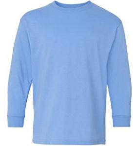 Elsabth_ Kids 100% Cotton O-Neck T-Shirt