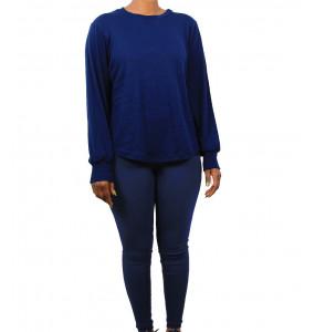 Eilsabeth_ Women's soft Legging and Long Sleeve Tee Set