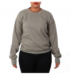 Elsabet_ Adults Long-Sleeve Crew neck Fleece Sweatshirt