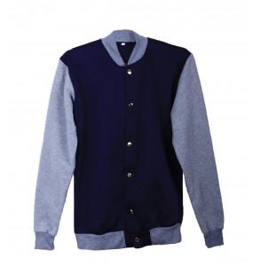 Elisabeth_ Cotton Letterman Jacket