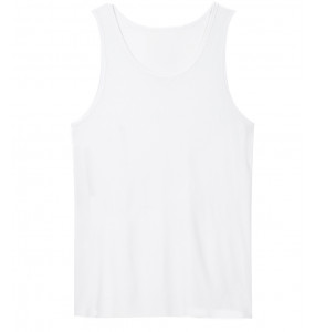 Elsabet_ O Neck Cotton Sleeveless white T-shirt (10-14 years)