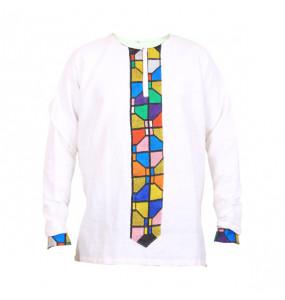 Elsabet_Men's Traditional 100% Cotton  O Neck Long Sleeve T- Shirt