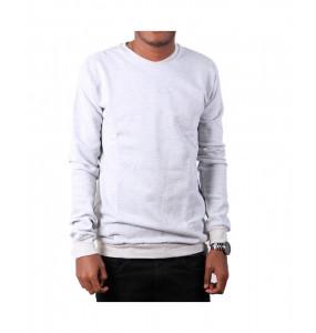 Elsabet _Unisex Long-Sleeve Crew Neck fleece sweatshirt