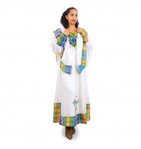 Elsabet_ Women's Long sleeve Traditional Dress