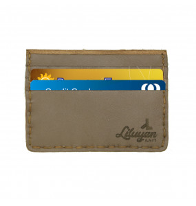 Liluyan Genuine Leather Hand made ATM/Licence Card wallet