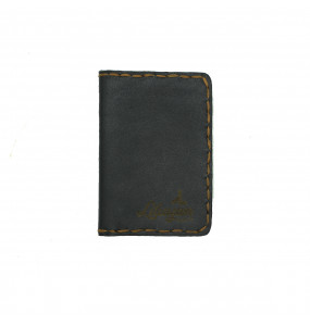 Liluyan_ Genuine Leather Hand Made Small ATM Card wallet