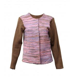Ethiopia_Women's LongSleeve  Thread Made Sweater Coat