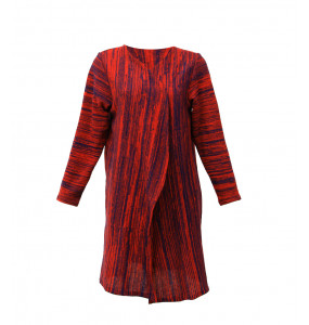 Ethiopia_ Long Sleeve 100% String Women's Sweater Gown